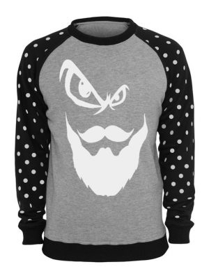 Beard Printed American Fleece Sweatshirt