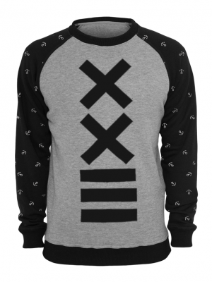 X-Minus Printed American Fleece Sweatshirt