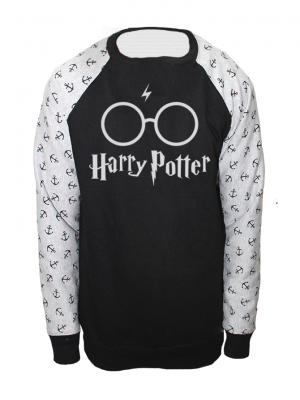 Harry Potter Printed American Fleece Sweatshirt