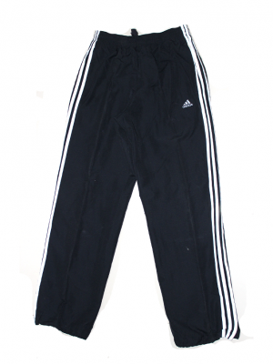 Adidas Three Strips Black Sports Trouser For Men
