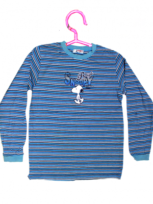 Snoopy Printed Strips Style Printed Colorful T-Shirt