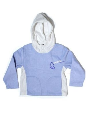 Kings Bay Printed Fleece Hoodie