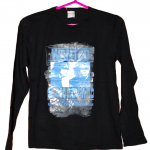 Wanted Printed Style Black Cotton T-Shirt