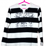 Dong Sin Strips Style Cotton T-Shirt For Men