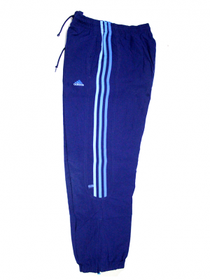 Adidas Three Strips & Zipper Sport Trouser For Boys