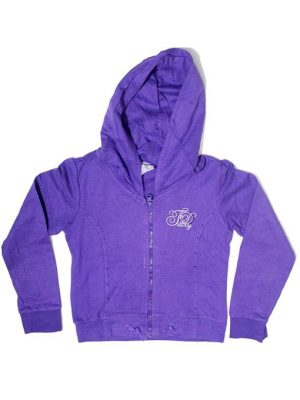 Party Fancy Style Fleece Zipper Hoodie