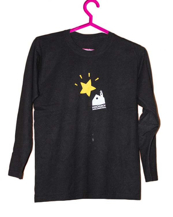 Star Printed Fancy Style Cotton T-Shirt For Men