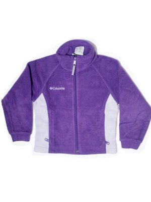 fleece, fancy style, columbia, zipper, for boys, boys fashion, jacket, purple, white