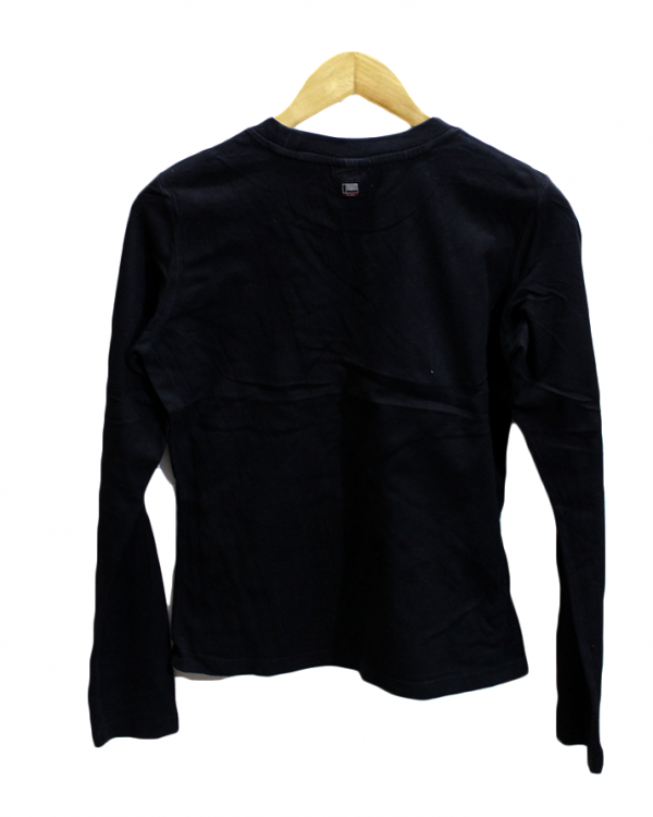 Fubuthe Collection Printed Black Cotton T-Shirt For Men