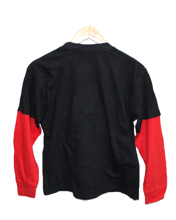 GWP Sports Printed Black Cotton T-Shirt