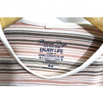 Strips Style Colorful Cotton T-Shirt