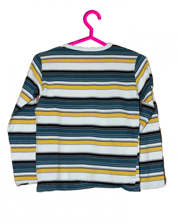 Strips Style Colorful T-Shirt For Boys