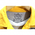Vintage & Jeans Printed Yellow Cotton T-Shirt For Men