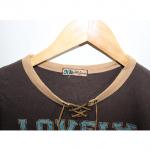 Nekkozzang Printed Brown Cotton T-Shirt For Men