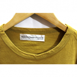 Rooney Design House Printed Yellow Cotton T-Shirt