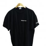 B & C Pioneer Plain Black Cotton T-Shirt-1