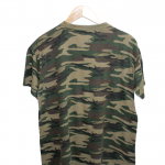 Vintage Fair Commando Style Green Cotton T-Shirt