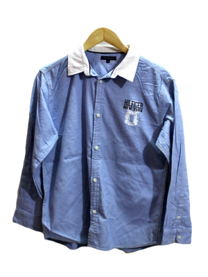 Latest Casual Hillfiger Logo Original Cotton Shirt