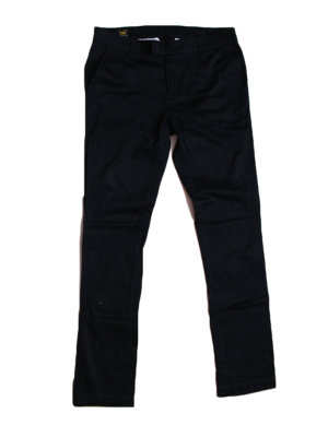 Lee Casual Plain Black Cotton Jeans For Women