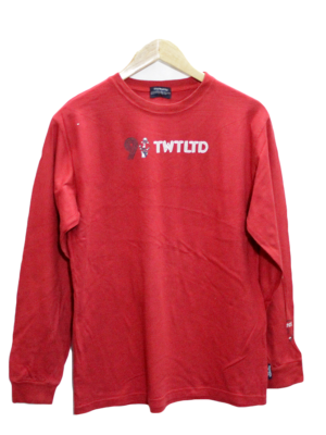 Ttowatto Print Red Cotton T-Shirt