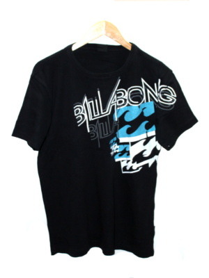 Billabong Decent Alphabet Print Round Neck Cotton T-Shirt For Men