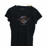 Hard Rock New Print Style Round Neck Cotton T-Shirt For Women