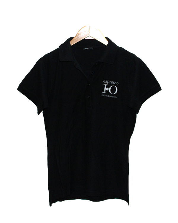 Polo T Shirt Simple Espresso Print Style Round Neck Cotton T-Shirt For Men