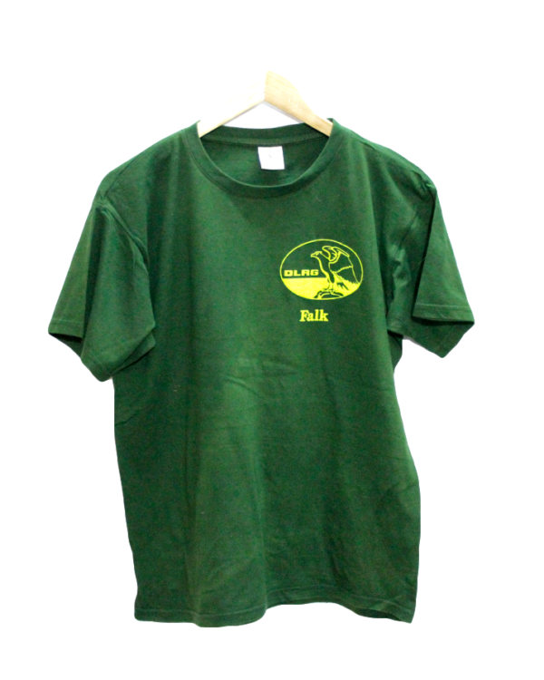 Newly Falk Print Style Round Neck Cotton T-Shirt For Men