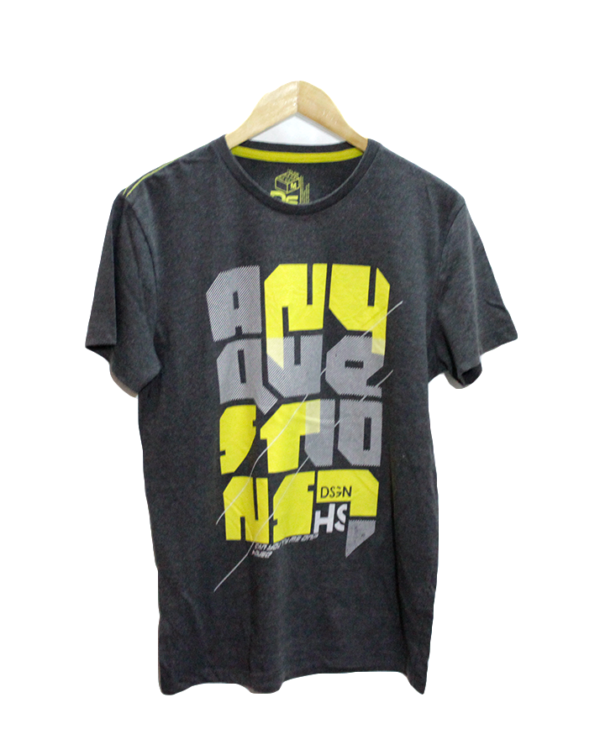 New Look Casual Printed Round Neck Cotton T-Shirt