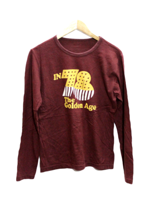 In 78 The Golden Age Printed Round Neck Cotton T-Shirt