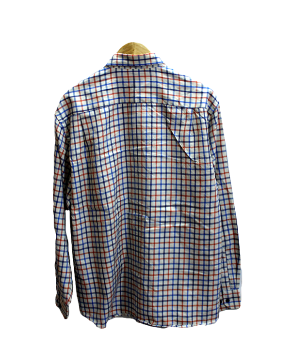 Antonio Bacci Casual Cheek Simple Style Original Cotton Shirt
