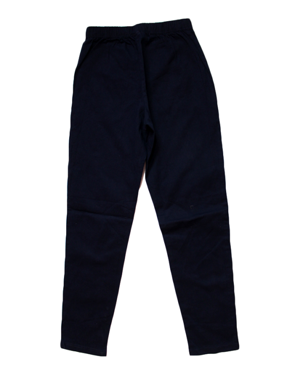 Universal Casual Plain Navy Blue Jeans For Women