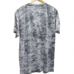 Casual Fabric Texture V-Neck Cotton T-Shirt