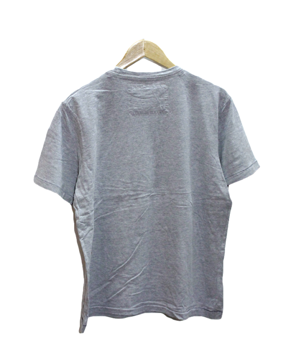 Casual Sound Check Broadcast Print Round Neck Cotton T-Shirt