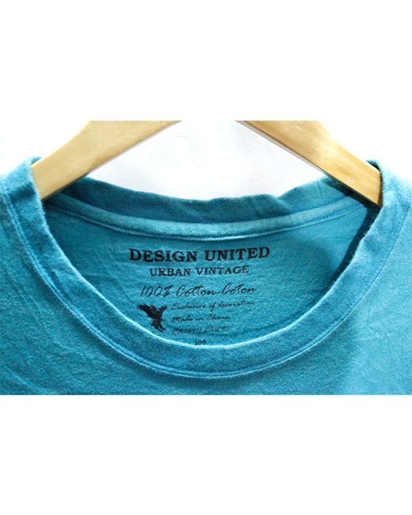 Design United Tshirt Sky Blue Round Neck Its What All About Print Cotton T-Shirt