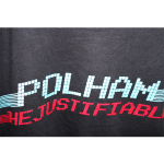 Polham Simple Alphabet Print Style Round Neck Cotton T-Shirt For Men