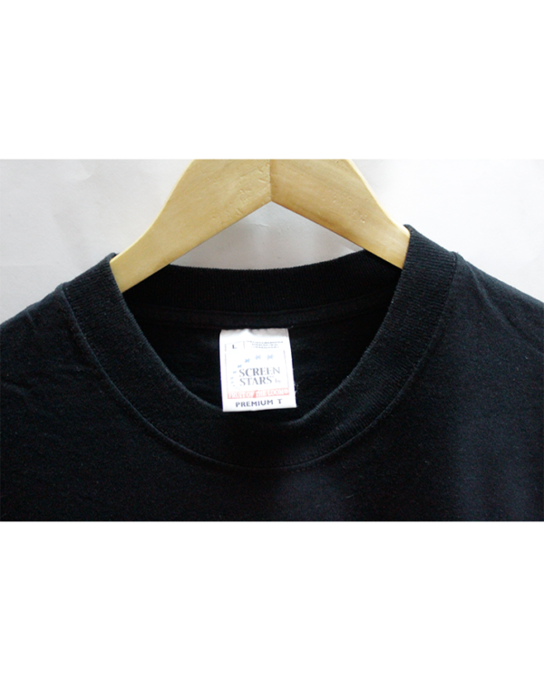 Support Your Local Printed Round Neck Cotton T-Shirt