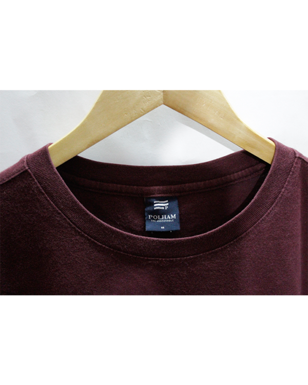 Casual Polham Simple Printed Round Neck Cotton T-Shirt