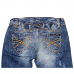 Casual Fabric Style Blue Jeans For Women