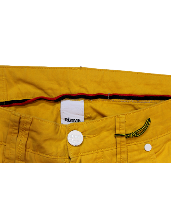 Rutme Casual Plain Camel Jeans For Men