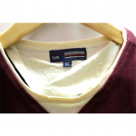 Newly V-Neck With Button Style Cotton T-Shirt For Men