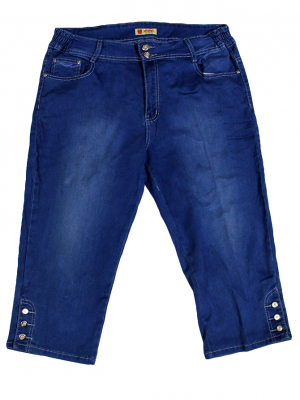 Miaoni Casual Blue Jeans Original Short For Women