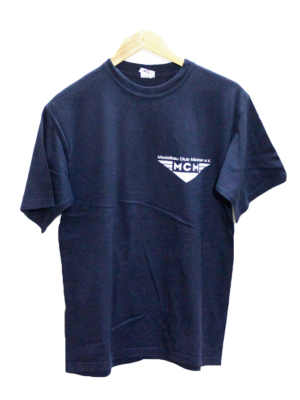 Jerzees Printed Original Navy Blue Cotton T-Shirt