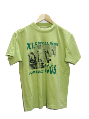 Adler Printed Original Green Cotton T-Shirt