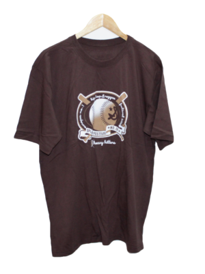 Ecko Unlimited Casual Printed Brown Half Sleeves Original Cotton T-Shirt