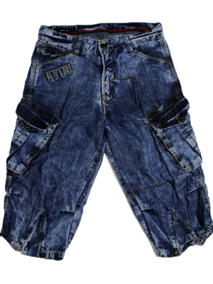 Gucci Casual Cargo Style Blue Jeans Short For Men