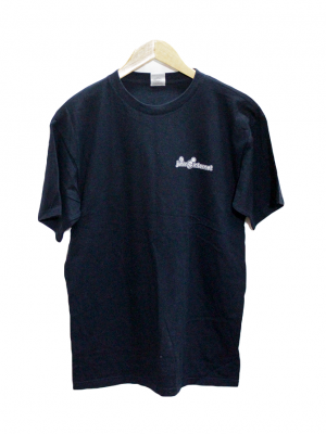 B & C Casual Printed Navy Blue Half Sleeves Original Cotton T-Shirt