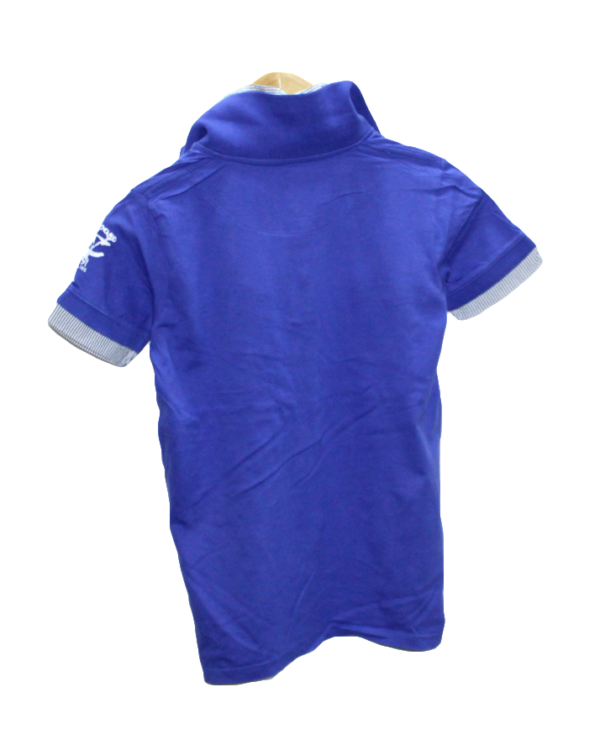 Pepperts Casual Printed Blue Half Sleeves Original Cotton T-Shirt