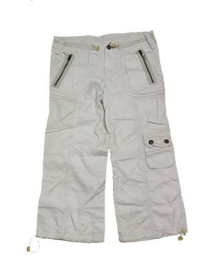 Casual Latest Style White Original Cotton Shorts