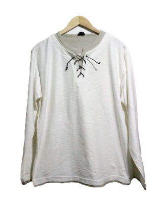 Nylauscrew Casual White neck T-Shirt